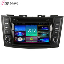 Top Quad Core Android 4.4 Car DVD Player for SUZUKI SWIFT With 16GB Flash Mirror Link Wifi Bluetooth GPS Free Map