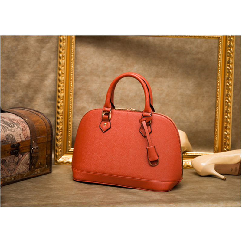 New Fashion Genuine Leather Large Capacity Handbags for Women