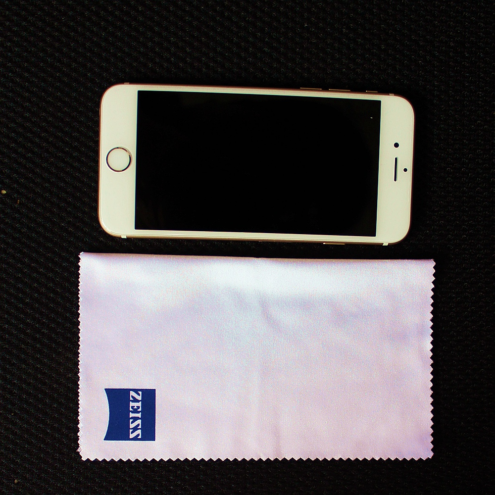 Zeiss Professional Microfiber Cloth for Lens Cleaning cloth Eyeglass Lens Sunglasses Camera Lens Cell Phone Laptop 12 counts