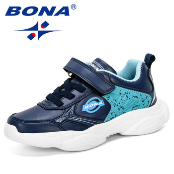 BONA 2019 New Spring/Autumn Children Shoes Sports Shoes Boys Fashion Casual Sneaker Girls Outdoor Training Breathable Kids Shoes 2020 spring autumn children shoes boys sports shoes fashion brand casual kids sneaker outdoor training breathable boy shoes 4829