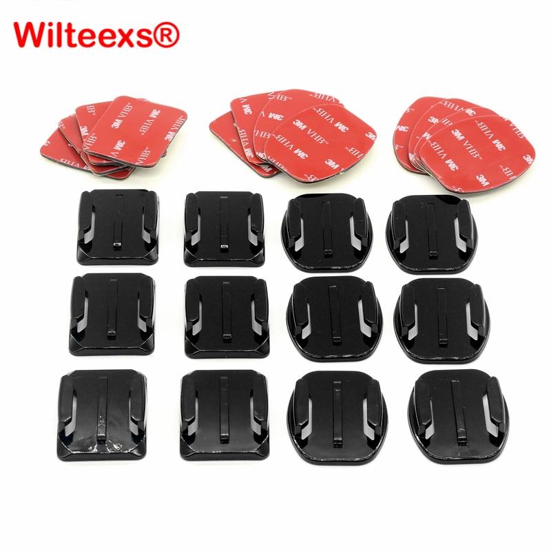 wilteex-12pcs-set-helmet-accessories-6pcs-curved-6pcs-flat-adhesive-mounts-3m-sticker-for-hero5-font