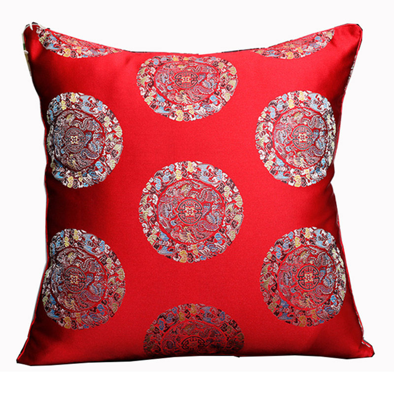 Seating Mini Gravita Armchair In Oriental Garden Fabric: Chinese Dragon Patterns Cushion Cover Couch Seat Chairs
