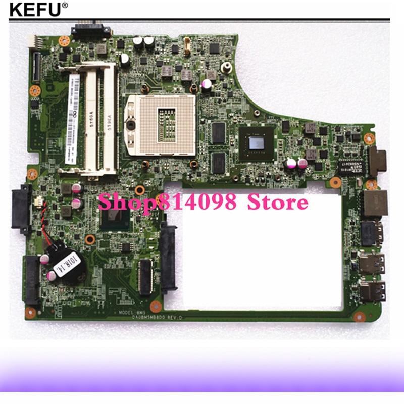 KEFU Mère D'ordinateur Portable Pour Lenovo B5400 DA0BM5MB8D0 DDR3 Pleine Testé