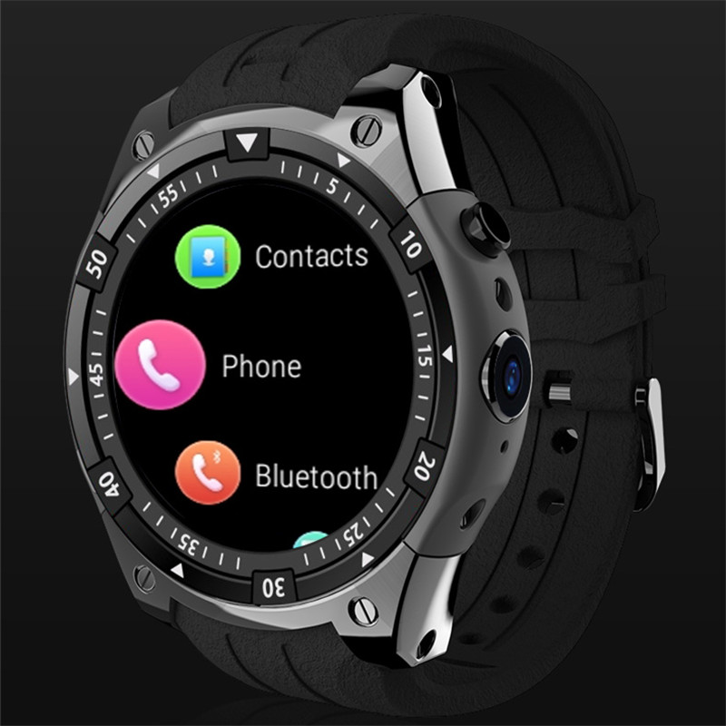 цена на 3G Smart Watch X100 MTK6580 Android 5.1 Dual Core Heart Rate GPS WiFi Smartwatch for IOS&Android phone watch PK GW11 H1 I4
