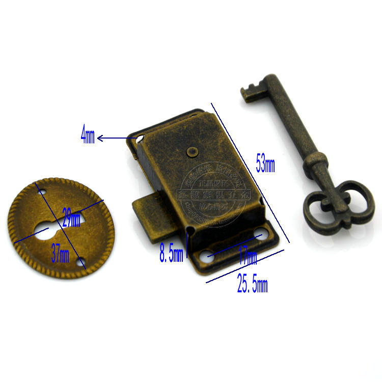 Vintage Antique Classical lock furniture lock Drawer Bronze Glass Locks  Shift door lock-in Locks from Home Improvement on Aliexpress.com | Alibaba  Group - Vintage Antique Classical Lock Furniture Lock Drawer Bronze Glass