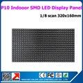 P10 smd из светодиодов панель, Крытый видео прокрутки рекламного сообщения из светодиодов экран 320 x 160 мм 1/8 сканирования модуль дисплея