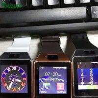 TROZUM Nova Moda Smartwatch DZ09 Relógio Original Inteligente venda quente Apoio SIM & Cartão TF para Apple iOS iphone Android smartphones