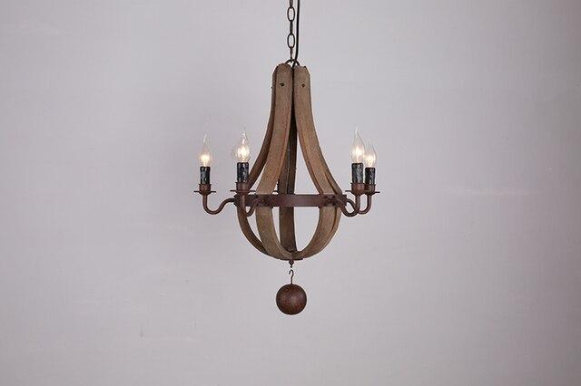 Lampadario In Legno Design : Sfera creativa lampada lampadario in legno archaize rurale