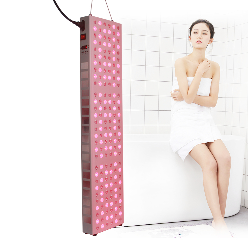 TL300 emf fda approved red light therapy treatment devices 850nm 660nm with timer bulit-in and remote control emf for face/skin