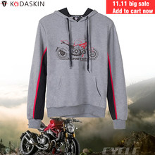 KODASKIN Racer Hoodies Motorcycle Hoodies MotoGP Sweatshirts Hoody Men Fashion for Ducati Monster 1200(China)