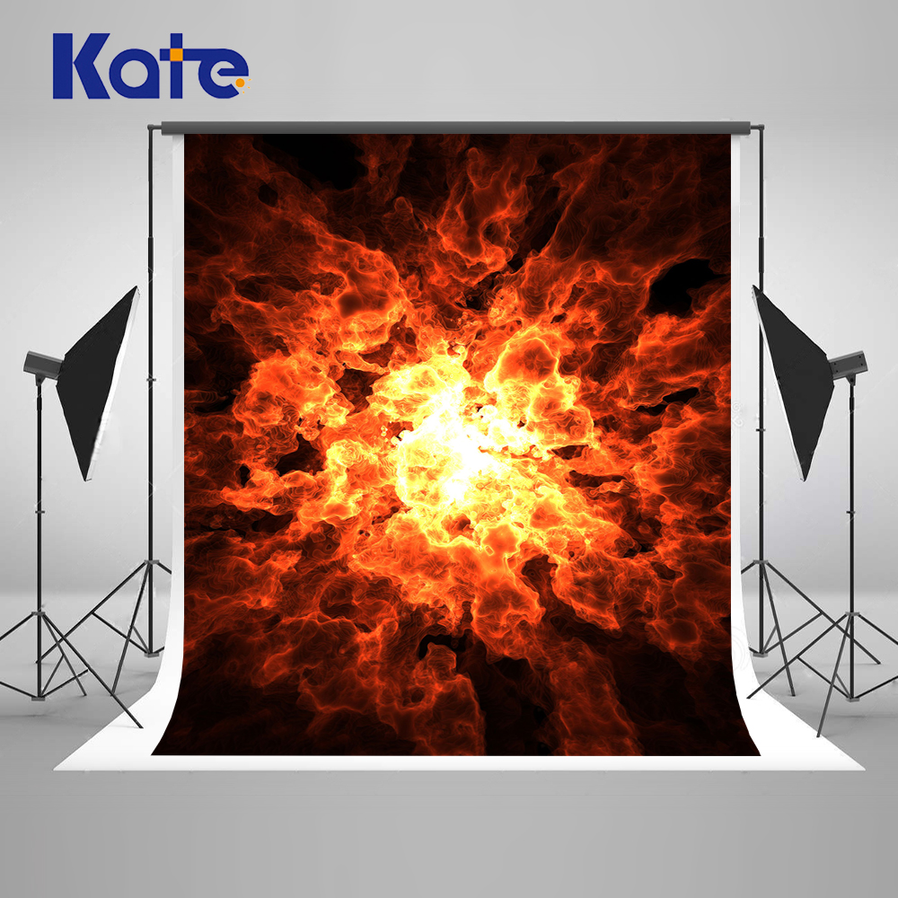 KATE Photography Backdrops Cosplay Party Background Fire Photography Backdrops Halloween Backdrop Vintage Photograph for Studio devil may cry 4 dante cosplay wig halloween party cosplay wigs free shipping