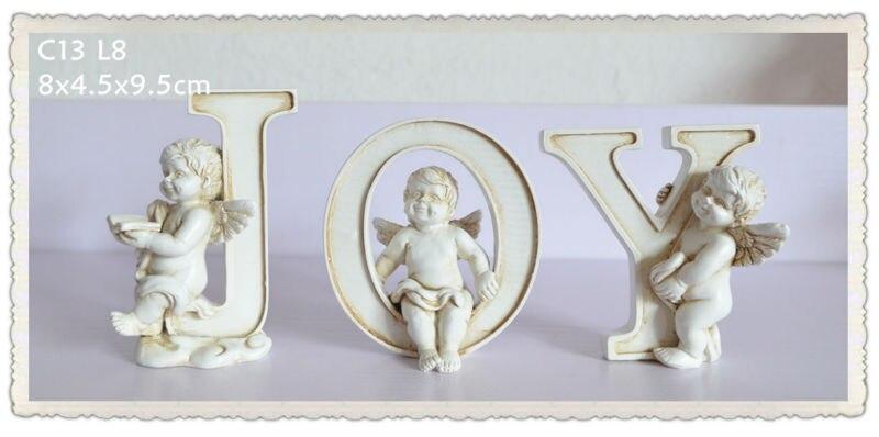 Wedding Angels Decorating Ltd: Resin Cherub Angel Wedding Decoration With Alphabet Letter