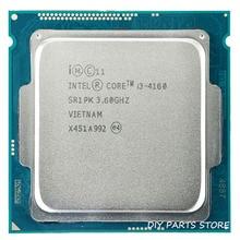 Intel core i3 i3-4160 4160 LGA 1150 3.60 ГГц двухъядерный 3.4 МГЦ ОПЕРАТИВНОЙ ПАМЯТИ DDR3-1333, DDR3-1600 GPU HD4400