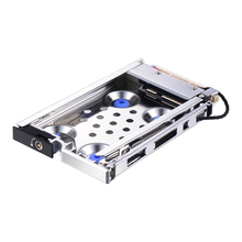 Uneatop ST8214S 2.5 inch SATA HDD/SSD Mobile Rack Enclosure Shock-proof Silver Door