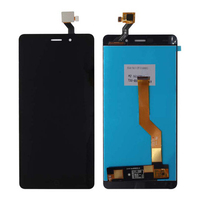 Original For Elephone P9000 LCD Display With Touch Screen Digitizer Assembly Black White Free Shipping