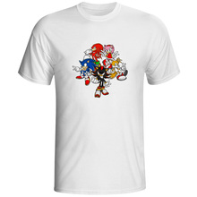 Family T Shirt Video Game Casual Brand Design T-shirt Skate Pop Anime Unisex Tee