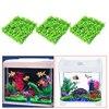 3Pcs Artificial Green Grass Plant Lawn Aquarium Fish Tank Landscape Garden Supplies Aquarium Decorations Ornaments V1NF