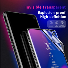 Baseus For Samsung Galaxy S10 Screen Protector 3D Curved Full Cover Protective Glass plus Film Tempered