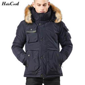 0b3c77f6672 HALACOOD 2018 Parka Mens Winter Jackets And Coats Male Warm