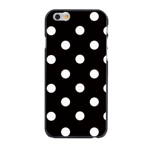 New 2016 Black and White Polka Dot Plastic Hard Cover Case