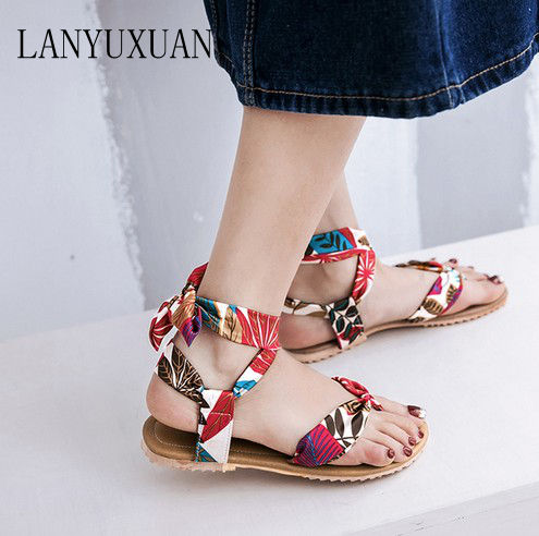 2017 Hot Sale  Ladies Shoes fashion Feminino Plus Super Big Size 34-52 Women Sandals Summer Style Chaussure Femme casual 346 brand new hot sale blue red yellow black green glossy patent leather women nude flats ladies shoes av123 plus big size 49 10 13
