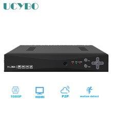 Wholesale 1080N CCTV AHD DVR Hybrid 4CH surveillance AHD-M 1080P NVR 3 in 1 network digital Video Recorder For security ip AHD Camera