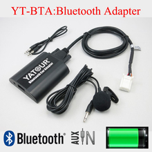 Yatour BTA car radio Bluetooth MP3 Kit for Toyota Camry Corolla Highlander Land cruiser RAV4 6+6pin radio