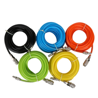 Pneumatic PU Tube Air Compressor Hose Pipe 8 5 5mm Polyurethane Flexible Tubes Quick Connector Fitting