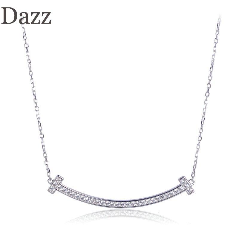 Aliexpress.com : Buy Dazz Fashion 925 Silver Zircon Choker