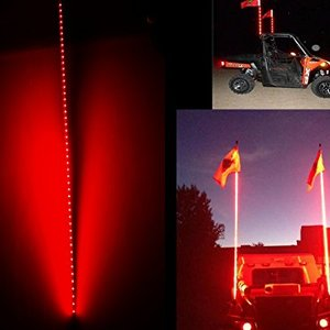 Night Rider 150cm LED antenna