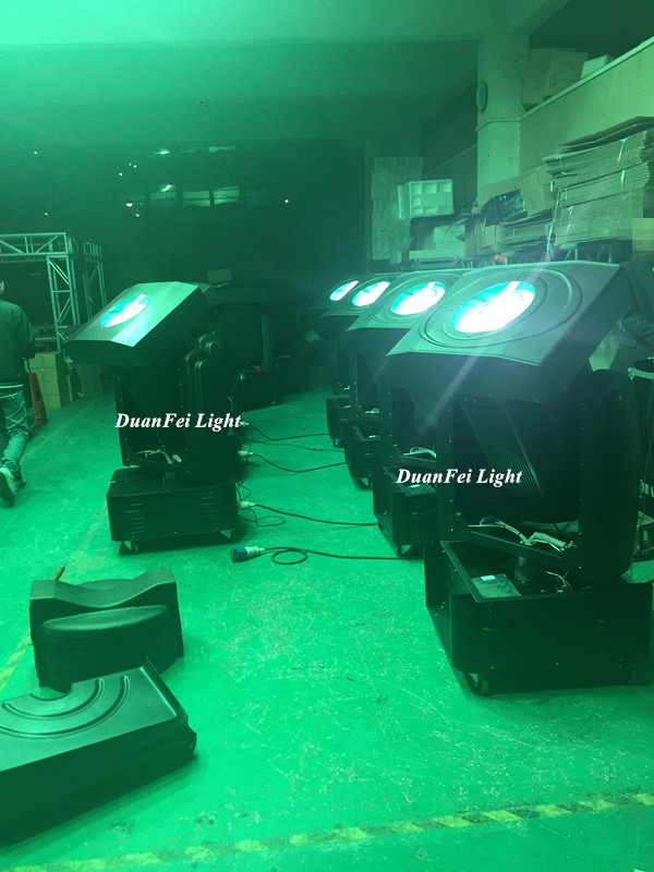 DunFly Free Shipping Waterproof roof top sky search light 2000W sky beam light moving head