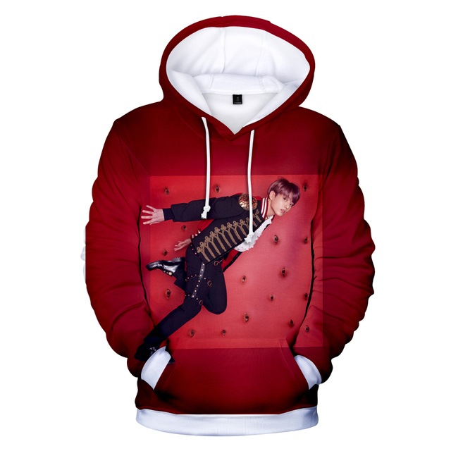LOVE YOURSELF ANSWER CONCEPT 3D HOODIE