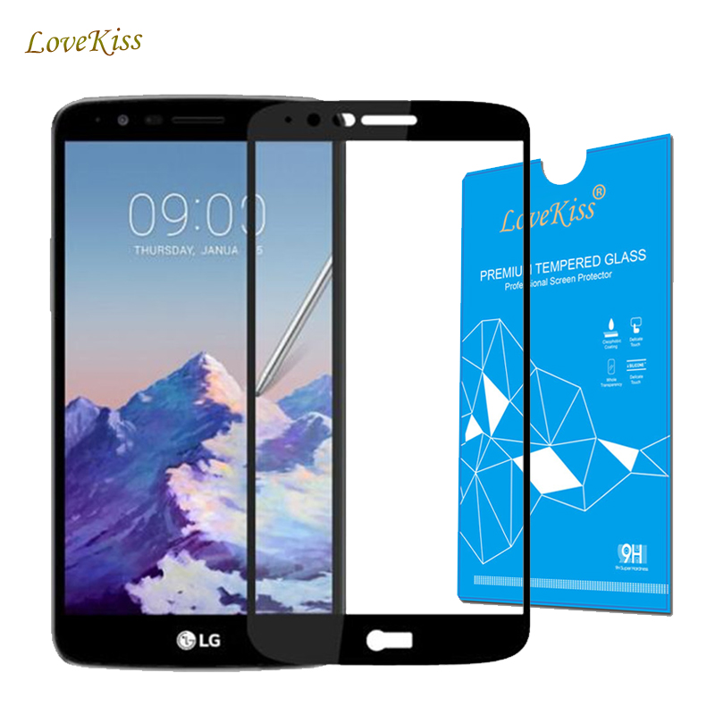 Full Cover Premium Tempered Glass For <font><b>LG</b></font> Stylus 3 <font><b>M400DY</b></font> M400DK M400F Stylus3 Screen Protector Protective Film Guard Cristal image
