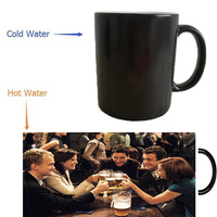 How I Met Your Mother Mugs Heat Reveal Cups Coffee Mugs Cold Hot Sensitive Whisky Cup