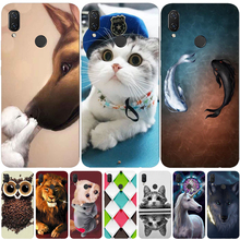 Case Huawei P Smart 2019 Case Cover Silicone TPU Soft Phone Case Huawei P Smart Cover Funda huawei P Smart 2018 Case Coque Capa все цены