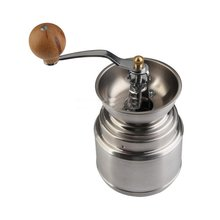 Free Shipping New Stainless steel Manual Handy Coffee Bean Pepper Seeds Grinder Mill(105)
