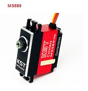 KST MS589 Mini Metal Gear Magnetic Sensor Digital Servo fit for 500 class helicopter cyclic fixed-wing plane free shipping kst ds145mg digital wing servo for glider with high precision metal gear