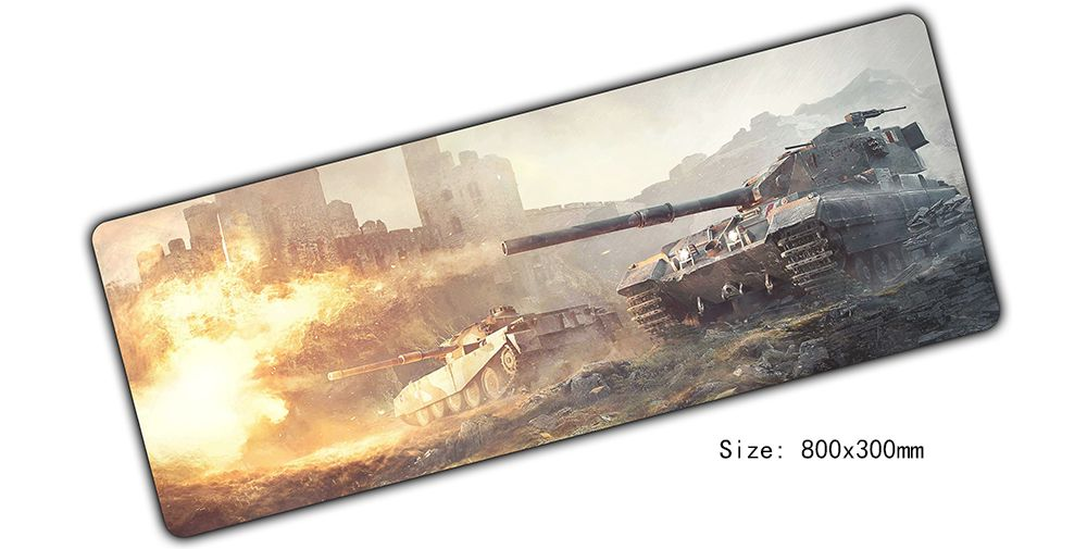 new world of tanks mouse pad 800x300x3mm mouse mat laptop best padmouse notbook computer gaming mousepad gamer cool play mats
