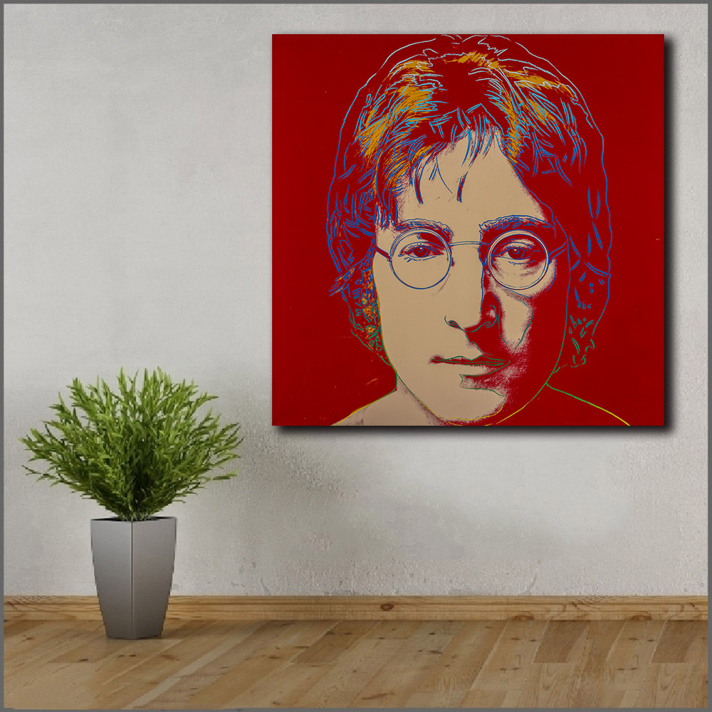JOHN LENNON CANVAS PICTURE PRINT WALL ART HOME DECOR FREE FAST DELIVERY