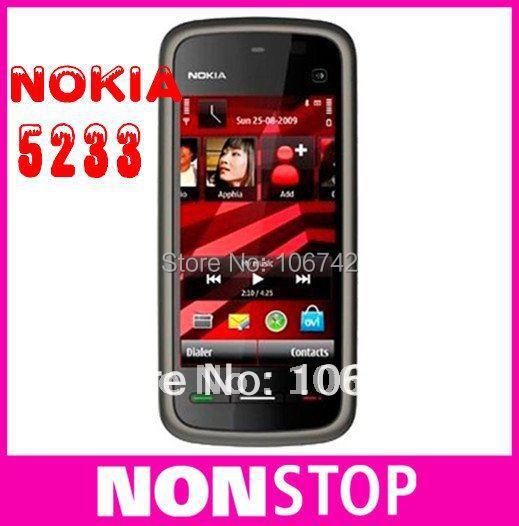 5233 unlocked original Nokia 5233 cell phone