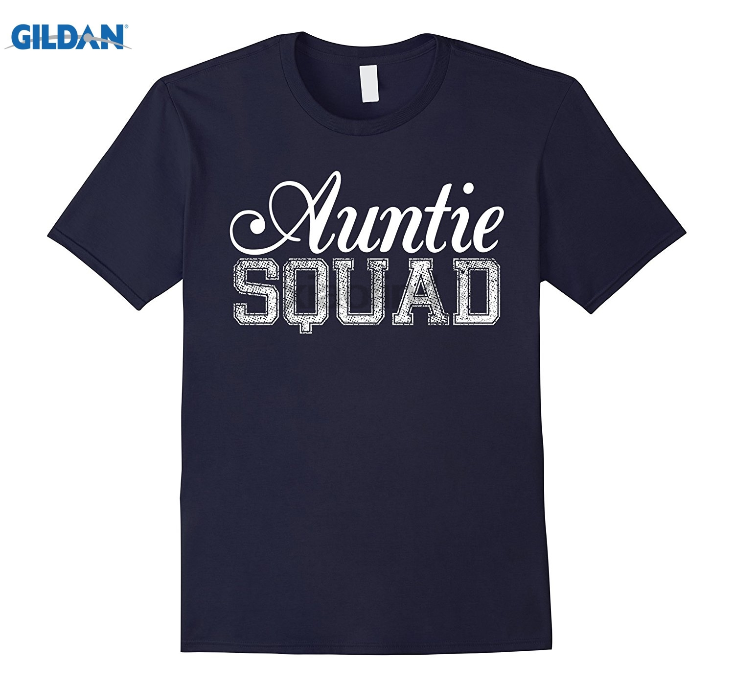 GILDAN Auntie Squad T-Shirts - Autie Squad funny T-Shirt Gifts dress T-shirt