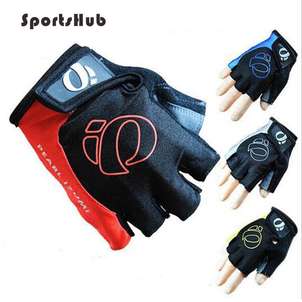 Купить с кэшбэком SPORTSHUB Unisex Anti-slip Bike/Bicycle/Cycling Gloves Half Finger Sport Gloves Breathable Riding Gloves With EVA Pad NR0115