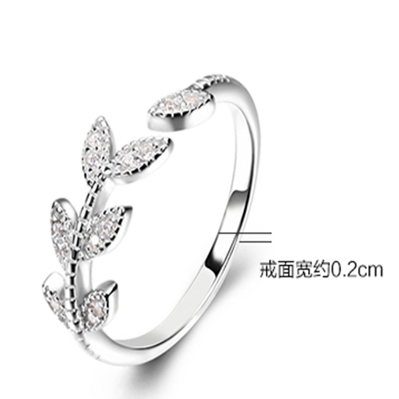 S925 Silver Open Ring Single Female Birthday Gift Girlfriend Gifts In Rings From Jewelry Accessories On Aliexpress