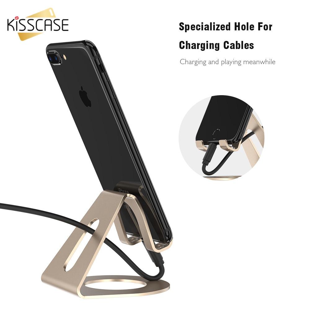 KISSCASE держатель телефона для iPad и iPhone 7 8 X Универсальный мобильный телефон Подс ...