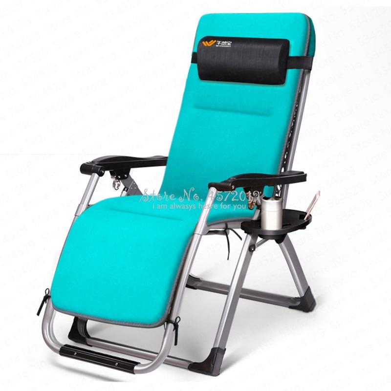 Sensational Household Lounge Chair Portable Folding Siesta Bed Balcony Inzonedesignstudio Interior Chair Design Inzonedesignstudiocom