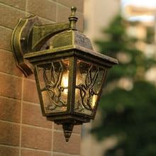 European wall lamp outdoor balcony Garden light garden wall light bar Cafe loft Art corridor outdoor lights waterproof LU808191