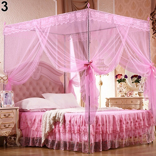 Romantic Princess Lace Canopy Mosquito Net No Frame For