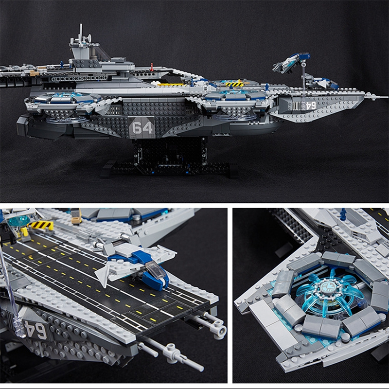 Dhl Free Lepin 07043 Super Heroes The Shield Helicarrier Model Building Kits Blocks Bricks Toys Compatible in stock dhl lepin 07043 super heroes the shield helicarrier model building kits blocks bricks toys compatible 76042