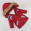 Высокое качество! 2016 Новая Зимняя детская одежда мальчиков ватник детей утолщение пальто куртки jaquetas crianças