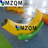 MZQM 2.2X1.2 m inflatable water games inflatable floating SEESAW inflatable floating islands water park inflatables